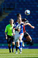 5th April 2021; Ewood Park, Blackburn, Lancashire, England; English Football League Championship Football, Blackburn Rovers versus Bournemouth; Lewis Holtby of Blackburn Rovers holds off the challenge of Jefferson Lerma of Bournemouth