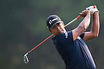 Anirban Lahiri of India hits the ball during Hong Kong Open golf tournament at the Fanling golf course on 24 October 2015 in Hong Kong, China. Photo by Xaume Olleros / Power Sport Images