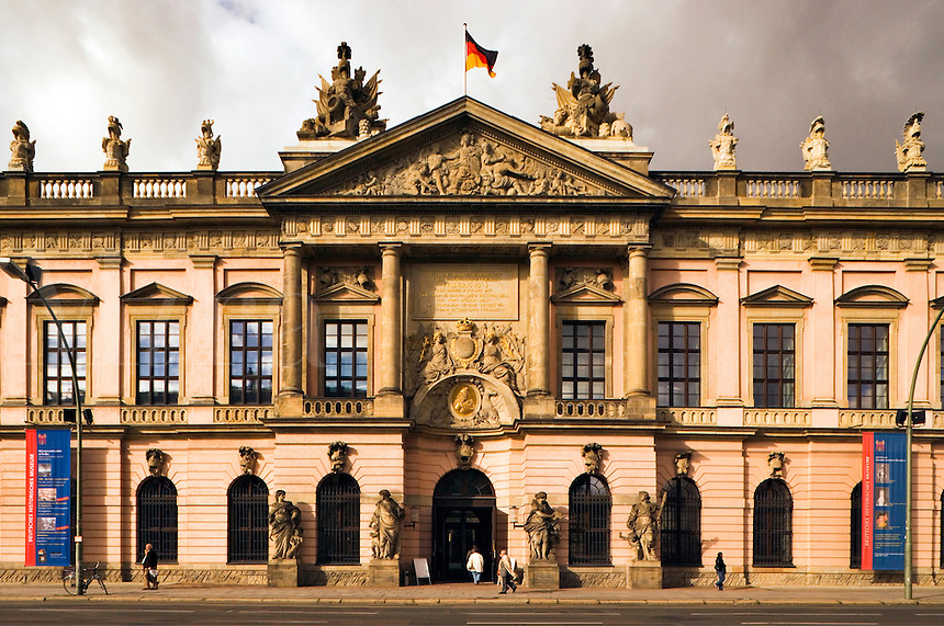 Germany, Berlin. Zeughaus or Armory.  Museum of German History.  Baroque style, finished in 1706.   Deutsches Historisches Museum.