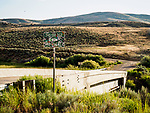 "Mt.City, Elko County, Nevada's ""The Bridge to No Where"""
