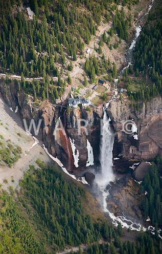 Bridal Veil Falls, Telluride, Colorado.  June 2013