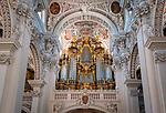 Deutschland, Niederbayern, Passau: Dom St. Stephan mit der groessten Domorgel der Welt | Germany, Lower Bavaria, Passau: cathedral St. Stephan with the largest cathedral organ in the world