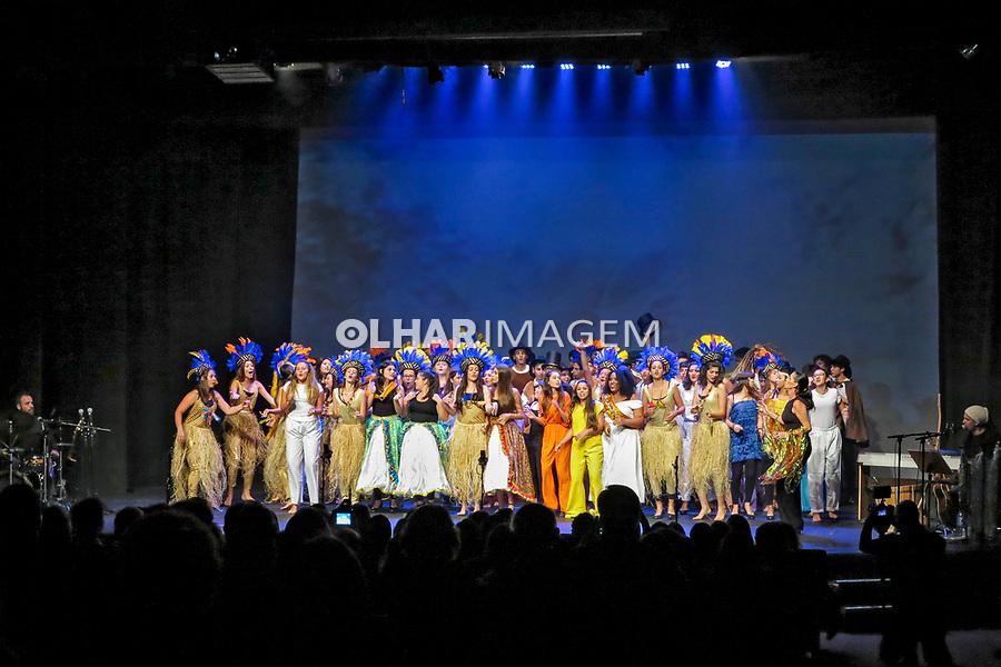 Peça de teatro de estudantes, final de curso, Sao Paulo. 2017. Foto Juca Martins