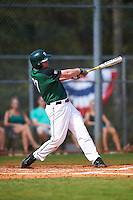 Dartmouth Big Green first baseman Michael Ketchmark (27) at bat during a game against the Eastern Michigan Eagles on February 25, 2017 at North Charlotte Regional Park in Port Charlotte, Florida.  Dartmouth defeated Eastern Michigan 8-4.  (Mike Janes/Four Seam Images)