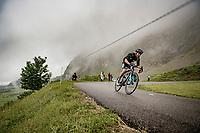 Quentin Pacher (FRA/B&B) descending the Col de la Colombière (1618 m)<br /> <br /> Stage 8 from Oyonnax to Le Grand-Bornand (151km)<br /> 108th Tour de France 2021 (2.UWT)<br /> <br /> ©kramon