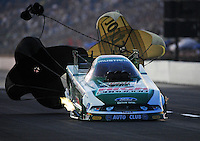 Jul, 9, 2011; Joliet, IL, USA: NHRA funny car driver John Force during qualifying for the Route 66 Nationals at Route 66 Raceway. Mandatory Credit: Mark J. Rebilas-