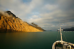 dans le LiefdefjordenIsfjord