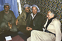 Iran 1980.From Right to left, Aziz Mohammed, communist party in Rajan with Aziz Akrawi.Irak 1980.De droite a gauche, Aziz Mohammed du parti communiste avec Aziz Akrawi a Rajan