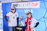 Sponsorship, USWNT SheBelieves Cup, March 8, 2020