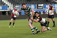 T O'Sullivan of Hendon RFC scores the fourth try during Hendon RFC vs Cranbrook RFC, RFU Junior Vase Rugby Union at Allianz Park on 14th March 2020