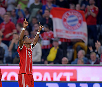 14.04.2018, Football 1. Bundesliga 2017/2018, 30.  match day, FC Bayern Muenchen - Borussia Moenchengladbach, in Allianz-Arena Muenchen.  David Alaba (FC Bayern Muenchen). *** Local Caption *** © pixathlon<br /> <br /> Contact: +49-40-22 63 02 60 , info@pixathlon.de
