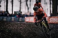 Lars van der Haar (NED/Telenet Fidea Lions)<br /> <br /> Elite Men's Race<br /> UCI CX Worlds 2018<br /> Valkenburg - The Netherlands