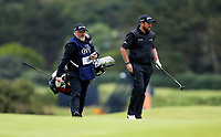 210719 | The 148th Open - Final Round<br /> <br /> Shane Lowry of Ireland and caddie Bo Martin on the 14th during the final round of the 148th Open Championship at Royal Portrush Golf Club, County Antrim, Northern Ireland. Photo by John Dickson - DICKSONDIGITAL