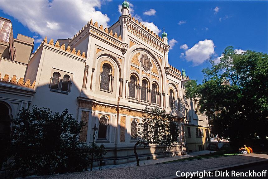 spanische Synagoge, Prag, Tschechien, Unesco-Weltkulturerbe