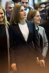 Queen Letizia of Spain attends the opening of the international tourism  fair FITUR in Ifema fairgrounds in Madrid, January 20, 2016. <br /> (ALTERPHOTOS/BorjaB.Hojas)