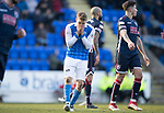 St Johnstone v Ross County…24.02.18…  McDiarmid Park    SPFL<br />David Wotherspoon reacts to a missed shot<br />Picture by Graeme Hart. <br />Copyright Perthshire Picture Agency<br />Tel: 01738 623350  Mobile: 07990 594431