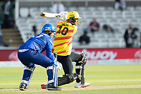Alex Hales, Trent Rockets drives through the off side during London Spirit Men vs Trent Rockets Men, The Hundred Cricket at Lord's Cricket Ground on 29th July 2021