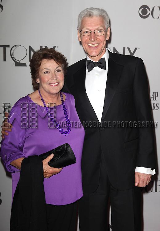 Helen Reddy & Tony Sheldon.attending The 65th Annual Tony Awards in New York City.