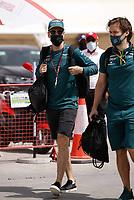 27th March 2021; Sakhir, Bahrain; F1 Grand Prix of Bahrain, Qualifying sessions; VETTEL Sebastian (ger), Aston Martin F1 AMR21 during Formula 1 Gulf Air Bahrain Grand Prix 2021 on the Bahrain International Circuit, in Sakhir, Bahrain -