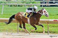 Greentree Road winning at Delaware Park on 6/13/13