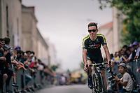Adam Yates (GBR/Mitchelton-Scott) at the Team presentation in La Roche-sur-Yon<br /> <br /> Le Grand Départ 2018<br /> 105th Tour de France 2018<br /> ©kramon