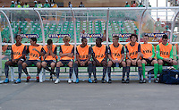 Bench US Men's National Team Under 17 defeated Malawi 1-0 in the second game of the FIFA 2009 Under-17 World Cup at Sani Abacha Stadium in Kano, Nigeria on October 29, 2009.
