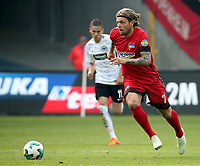 22.04.2018, Commerzbank - Arena, Frankfurt, GER, 1.FBL, Eintracht Frankfurt vs Hertha BSC , <br />Alexander Esswein (Berlin) *** Local Caption *** © pixathlon<br /> Contact: +49-40-22 63 02 60 , info@pixathlon.de