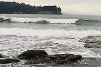 Washington beaches near Port Angelese, Washigton