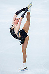 Nathalie Weinzierl of Germany compete in the Figure Skating Team Ice Dance Short Program during the 2014 Sochi Olympic Winter Games at Iceberg Skating Palace on February 8, 2014 in Sochi, Russia. Photo by Victor Fraile / Power Sport Images