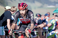Thomas de Gendt (BEL/Lotto-Soudal) at the gravel section atop the Montée du plateau des Glières (HC/1390m)<br /> <br /> Stage 18 from Méribel to La Roche-sur-Foron (175km)<br /> <br /> 107th Tour de France 2020 (2.UWT)<br /> (the 'postponed edition' held in september)<br /> <br /> ©kramon