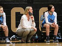 Kimberly Jenkins, head girls basketball coach for Springdale Har-ber against Bentonville at Tiger Arena, Bentonville, AR January 5, 2021 / Special to NWA Democrat-Gazette/ David Beach