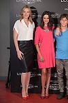 Carolina Bang and Mcarena Gomez pose during `Los heroes del mal´ film presentation in Madrid, Spain. September 09, 2015. (ALTERPHOTOS/Victor Blanco)