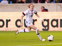 Rose Lavelle #16 of the United States dribbles