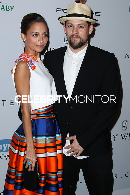 CULVER CITY, CA - NOVEMBER 09: Nicole Richie and Joel Madden arrive at the 2nd Annual Baby2Baby Gala held at The Book Bindery on November 9, 2013 in Culver City, California. (Photo by Xavier Collin/Celebrity Monitor)