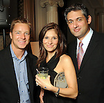 From left: Kyle Juday, Dahlia Moughrabi and Nizar Moughrabi at the Endeavor for Hope Foundation's Annual Fundraising Gala Saturday May 09,2010.  (Dave Rossman Photo)