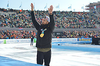 SCHAATSEN: AMSTERDAM: Olympisch Stadion, 11-03-2018, ISU World Allround Speed Skating, Coolste Baan van Nederland, Kjeld Nuis, ©foto Martin de Jong