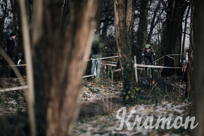 Maud Kaptheijns (NED/Crélan-Charles)<br /> <br /> Women's Race<br /> CX Vlaamse Druivencross Overijse 2017
