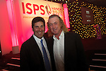 ISPS Handa Wales Open 2012.Spanish golf stars Jose Maria Olazabal and Miguel Angel Jimenez at the gala dinner.29.05.12.©Steve Pope