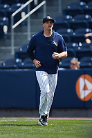 Scranton/Wilkes-Barre RailRiders pitcher Brody Koerner (54) during the game against the Rochester Red Wings at PNC Field on July 25, 2021 in Moosic, Pennsylvania. (Brian Westerholt/Four Seam Images)