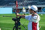 Kevin Evans, Toronto 2015 - Para Archery // Paratir a l'arc.<br /> Highlights from the Para Archery events // Faits saillants des événements de paratir à l'arc.<br /> 09/08/2015.