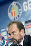 Getafe's President Angel Torres. June 30, 2015. (ALTERPHOTOS/Acero)
