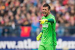 Goalkeeper Diego Alves Carreira of Valencia CF during the match Atletico de Madrid vs Valencia CF, a La Liga match at the Estadio Vicente Calderon on 05 March 2017 in Madrid, Spain. Photo by Diego Gonzalez Souto / Power Sport Images