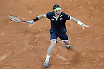 David Ferrer, Spain, during Madrid Open Tennis 2015 match.May, 8, 2015.(ALTERPHOTOS/Acero)