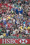 Hong Kong vs American Samoa during the Cathay Pacific / HSBC Hong Kong Sevens at the Hong Kong Stadium on 28 March 2014 in Hong Kong, China. Photo by Victor Fraile / Power Sport Images