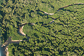 Pará State, Brazil. Riozinho river in the rain forest; beaches show deposits.