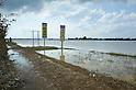 Typhoon and record rainfall flood damage in Joso City, Ibaraki