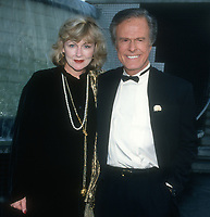 Robert Culp & wife<br /> 1994<br /> Photo By Michael Ferguson/CelebrityArchaeology.com