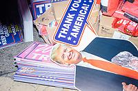 Trump Paraphernalia for Sale - Manchester NH - 8 Feb 2020