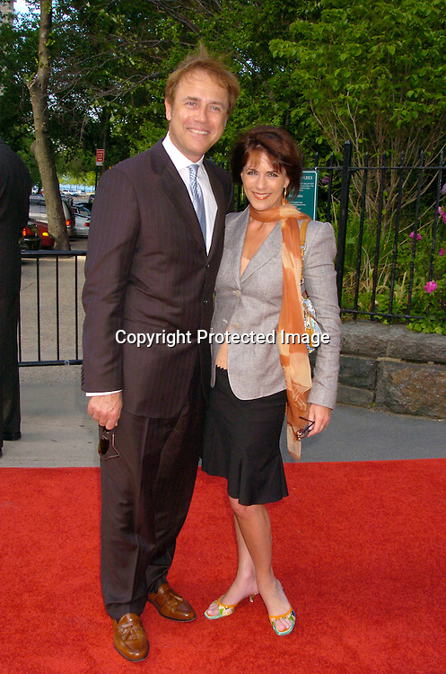 Colleen Zenk Pinter and husband Mark Pinter ..at the Pre Daytime Emmy party at Gracie Mansion on..May 20, 2004