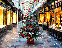 NOV 19 Burlington Arcade Christmas Display